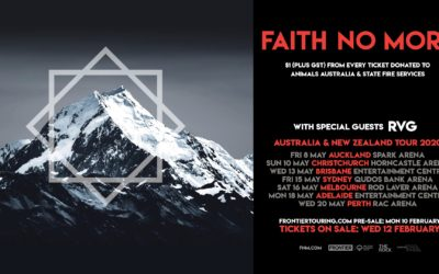 FAITH NO MORE ARE HEADED DOWNUNDER!