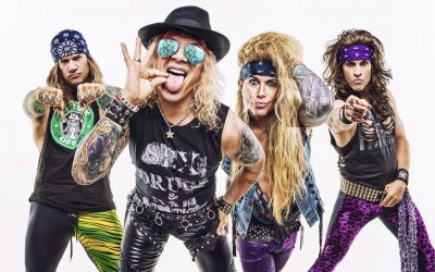 Steel Panther are heading back to NZ!
