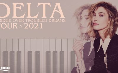 Delta Goodrem announce 2021 tour dates for AU & NZ!